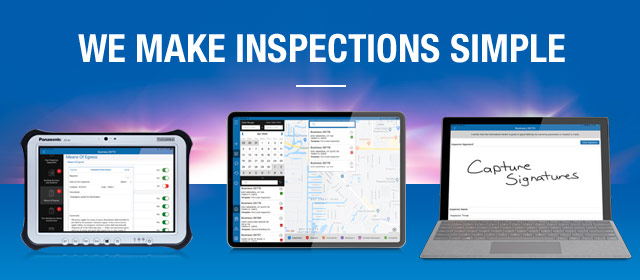 We Make Inspections Simple.